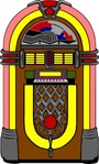 fifties,jukebox,music,record,colouring book