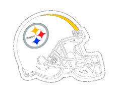 Steelers,Black,Helmet