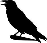 crow,silhouette,bird,nature,symbol,animal,media,clip art,public domain,image,png,svg
