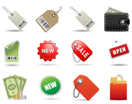 bag,cart,coin,communication,currency,dollar,e-commerce,icon,internet,label,mini,new,open,paper,sale,set,shipping,shopping,sign,store,symbol,wallet,web,website