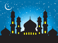 abstract,aidil,background,eid,islamic,moon,mosque,mubarak,ramadan,ramadhan,religion,star,twinkle