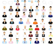 job,people,profesional,vector icon
