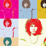 door,pop,art,jim,morrison,poster,music,people,artist,james,douglas,singer,poet,poetry,american,player,illustrator,idol,icon,famous,rock,classic,lizard,king.,jim morrison,pop art