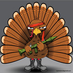 bird,holiday,thanksgiving,turkey,weapon,bazooka,rambo,thanksgiving turkey