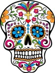 skull,sugar skull,day of the dead,hispanic