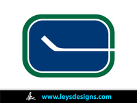 vancouver canuck,canuck,logo,old stick logo,hockey,ley  design