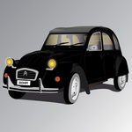 2 cv,deux chevaux,car,citroen,oldschool,old car,french car