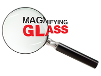 big text,magnify,magnifying glass,zoom,science,big,text,magnifying,glass