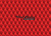 pattern,red,cube,cub,pattern,design,cub,pattern,cub
