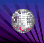 ball,disco,fun,mirror,mirror ball,party,sparkle,glam,70,disco ball