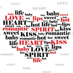 expression,heart,love,typography,valentine,word