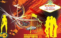 la,vega,sin,city,people,gambling,silhouette,police,car,mobile,retro,70\'s,abstract,arrow,swirl,swirly,grunge,grungy,airplane,airline,landscape,scene,night,life,hot,spot,fab,fabulous
