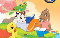 animal,reading,lecture,bird,cow,goat,parrot,chicken