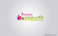 frozen,yogurt,logo,ice-cream,kiwi,cream