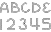 Free download of UCLA Font vector graphics and illustrations