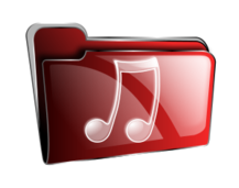 folder,icon,red,music,roshellin
