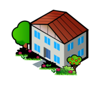 isocity,iso city,isometric,house,building,flat,unit,window,home,townhouse,cottage