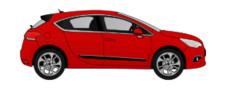 voiture,rouge,moderne,ds4,car,red,citroën,suv