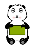 panda,bear,animal,cute,sign,vector