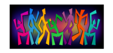 figure,dancer,abstract,colorful,stripe,figures,dancers,abstract,colorful,stripes