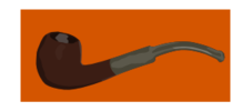 pipe,smoke,smoking,tobacco,orange,brown,grey