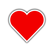 love,red,heart,valentine,playing card,icon