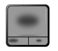 touch,pad,used,mark,finger,computer,laptop,svg,png,clipart