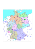 germany,federal republik of germany,deutschland,bundesländer,landkarte,map