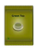 green,tea,sachet,package,plastic,powder,green,svg,png,clipart