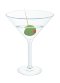 food,drink,martini,cocktail,alcohol,olive,glass