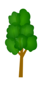 tree,icon,cartoon,clip art,vector,svg,png,image