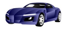 car,bezier,inkscape
