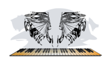 righteous,keyboard,music,piano,line art