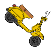 vehicle,scooter