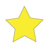 star,simple star,yellow star,meticulous,clip art