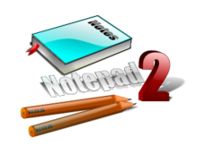 notepad,icon,3d,art,book,pencil,shaded,glassy