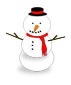 snowman,winter,hat,scarf