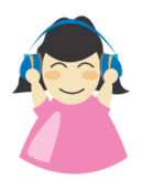 girl,woman,headphone,music,listen,woman