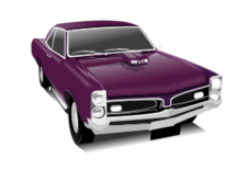car,muscle car,gto,purple,hot rod,classic,transportation