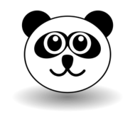 cartoon,comic,public,domain,graphic,icon,teddy,giant,panda,black,white,face,toy,snuggy,plush,head,animal,mammal,domaine,vecteur,graphique,signe,symbole,icône,géant,noir,blanc,visage,museau,jouet,toudou,peluche,tête,mammifère,medien,bild,vektor,grafik,symbol,comic,media,clipart,image,svg,vector,bild
