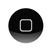 iphone,ipad,ipod,home,screen,button,black,grey,rectangle,circle