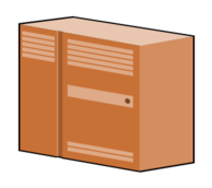server,icon,box,cabinet,locker