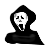 ghost,hood,haunt,haunted,costume,scare,halloween,halloween 2010,halloween clip art