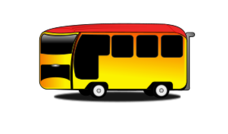 bus,cartoon,automobile