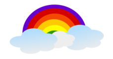 cloud,rainbow,sky,weather