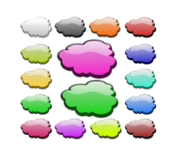 3d,glossy,glow,gloss,cloud,icon,clouds,inky2010,vector,inkscape