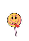 cartoon,smiley,lollipop,candy