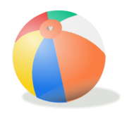 Image result for beach balls icon no background