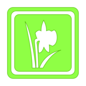 spring,icon,season,silhouette,green