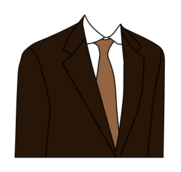 suit,clothing,necktie,brown